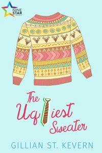 The Ugliest Sweater cover: A hand drawn sweater. It is ugly. I don't know what to tell you!