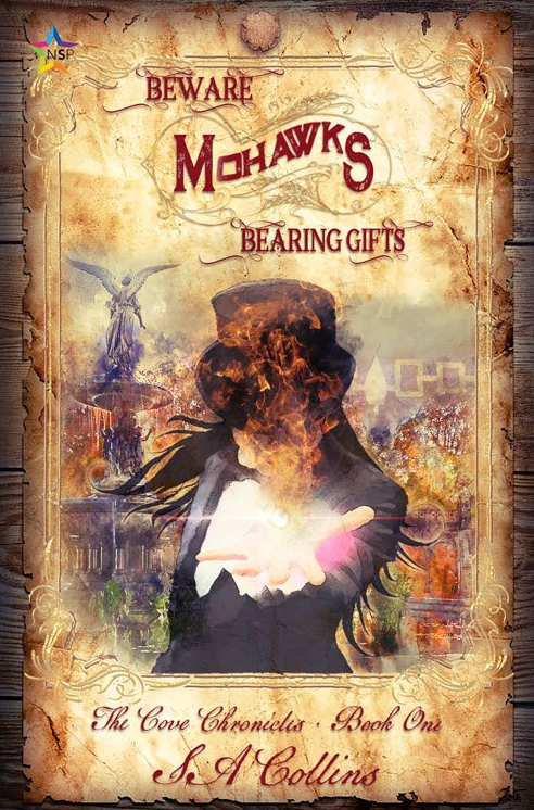 Book Cover: Beware Mohawks Bearing Gifts by S.A. Collins