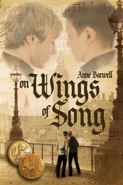 Book Cover: On Wings of Song by Anne Barwell